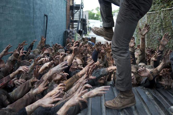 Une image de la série « The Walking Dead», d'après la bande dessinée deRobert Kirkman.