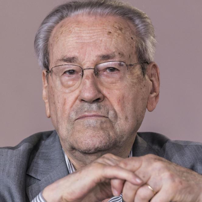 Lucien Sève, en septembre 2019.