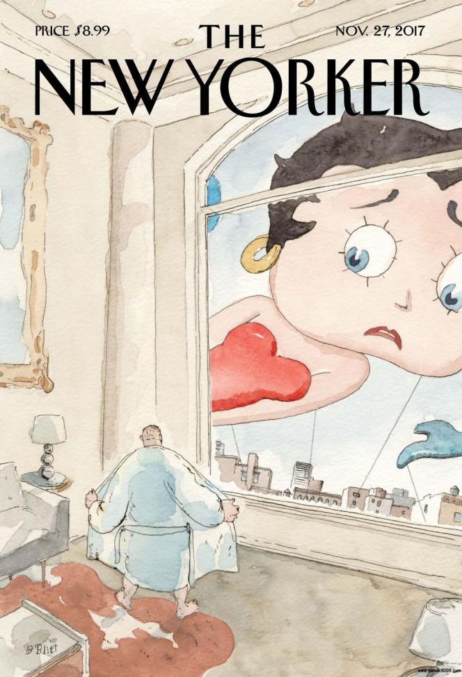 La « une » de « The New Yorker»du 27 novembre 2017.