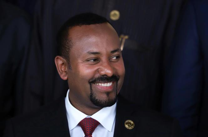 Le premier ministre éthiopien Abiy Ahmed à Addis-Abeba, le 9 février 2020.
