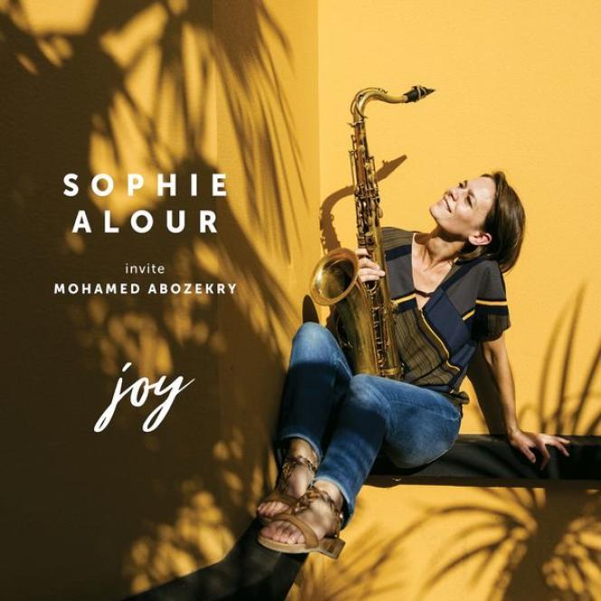 Pochette de l'album« Joy», de Sophie Alour.