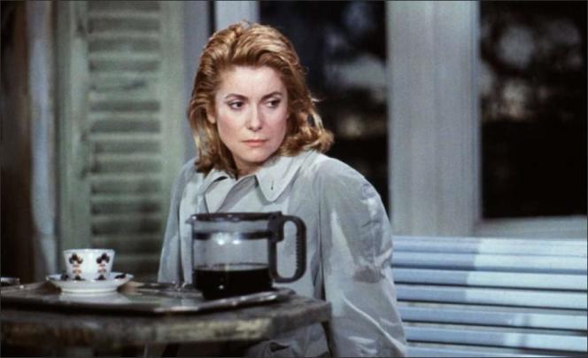 « Le lieu du crime» avec Catherine Deneuve, en 1986.