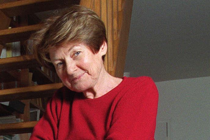 Marguerite Derrida, à Ris-Orangis (Essonne), en janvier 2001.