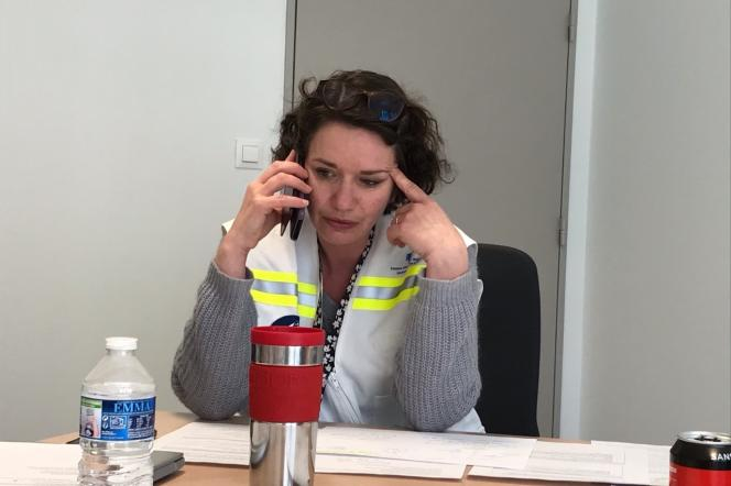 Frédérique Warembourg, psychiatre au CHU de Lille (Nord).