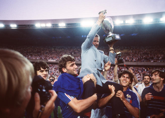 Sous les ordres de Michel Hidalgo, les Bleus avaient remporté l'Euro en 1984, le premier grand trophée de l'histoire du football français.