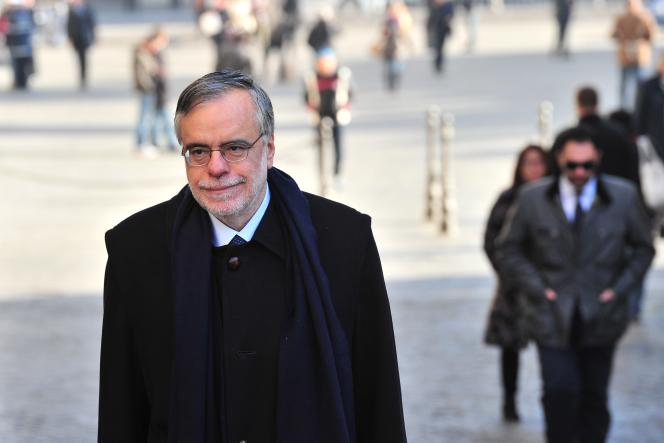 Andrea Riccardi, alors ministre de la coopération internationale, à Rome, le 18 novembre 2011.
