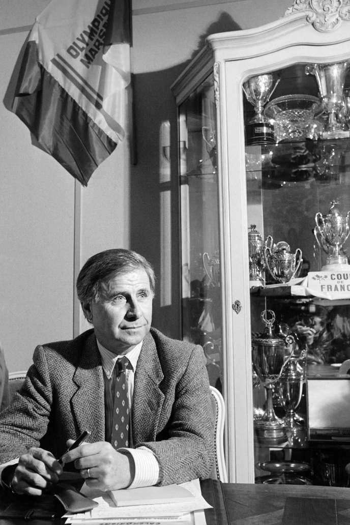 Michel Hidalgo, le 15 avril 1986.