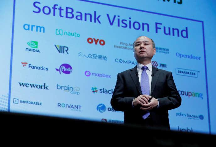 Le PDG de SoftBank, Masayoshi Son, à Tokyo, en novembre 2018.