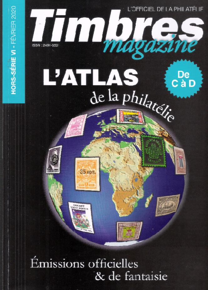 « L'Atlas de la philatélie (C à D) », 100 pages, février 2020.