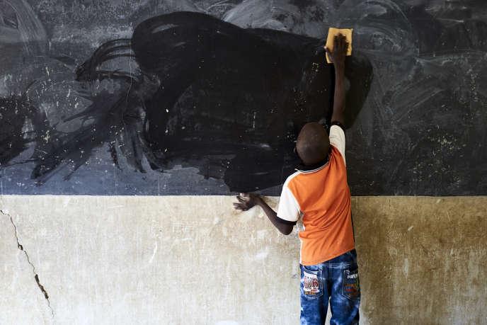 Depuis le début de la crise du coronavirus en Afrique, plus de 1,3 milliard de jeunes sont empêchés d'aller à l'école. Ici à Ségou, au Mali, le 1er octobre 2019.