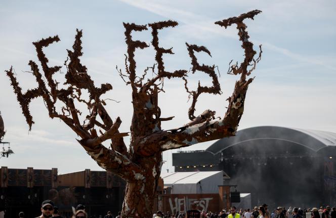 L'édition 2019 du festival Hellfest, à Clisson (Loire-Atlantique).