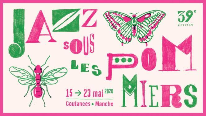 Affiche du festival Jazz sous les pommiers.