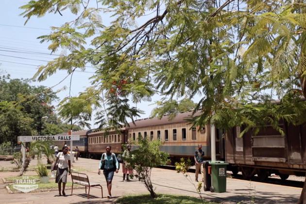 «Des trains pas comme les autres» au Zimbabwe.