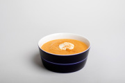 La soupe de lentilles corail.