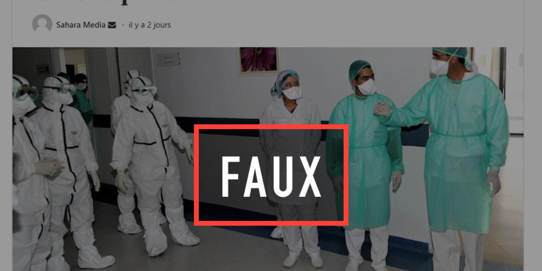 Non, le Maroc n'a pas guéri cinq malades du coronavirus grâce à la chloroquine