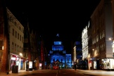 La mairie de Belfast, en Irlande du Nord, le 26 mars 2020.