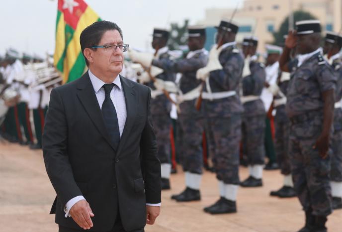 L'ambassadeur de France au Togo, Marc Vizy, à Lomé, en 2017.