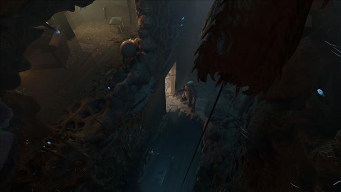 Même s'il y a quelques séquences de tir réjouissantes,« Half-Life : Alyx» lorgne plus régulièrement vers le jeu d'horreur.