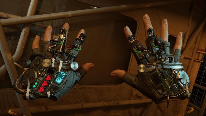 Comme déjà aperçu dans la brillante démonstration « The Lab», Valve n'aime rien tant que de mettre en scène des mécaniques de précision.