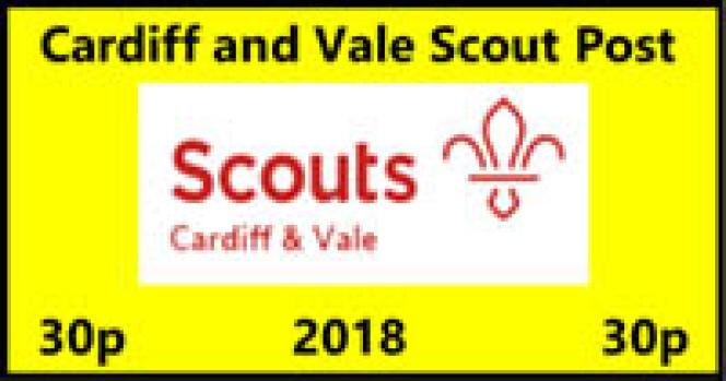 Poste locale scoute de Cardiff and Vale (Pays de Galles), 2018.