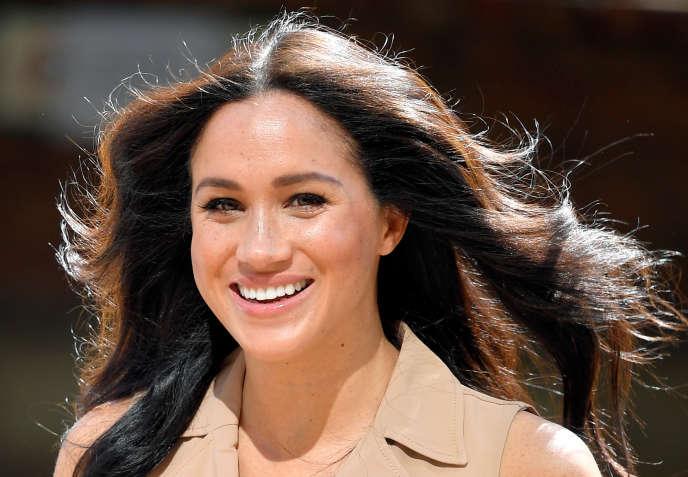 Meghan Markle, l'épouse du prince Harry, à Johannesburg, en Afrique du Sud, en octobre 2019.