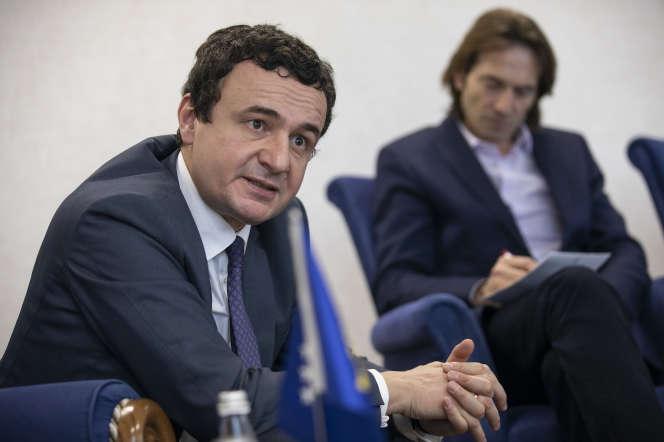 Le premier ministre kosovar, Albin Kurti, à Pristina, le 3 mars.