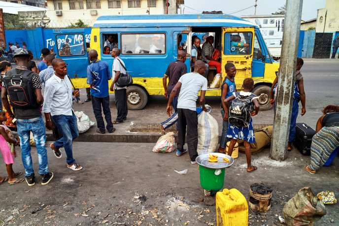 A Kinshasa, en mars 2020.