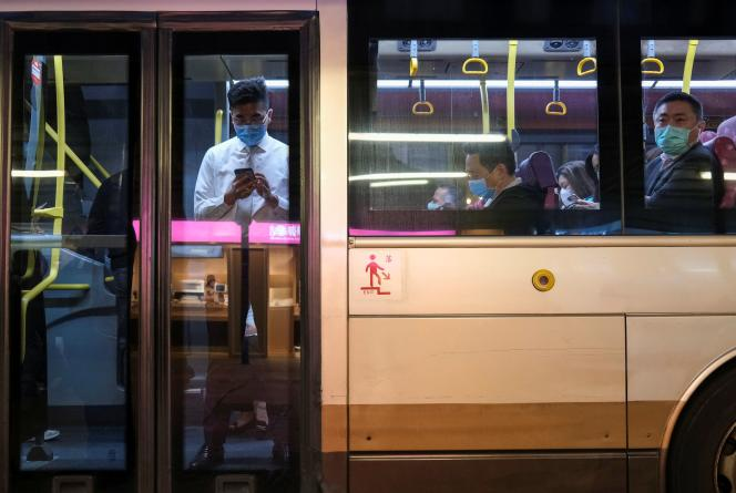 A Hongkong, le 25 mars.