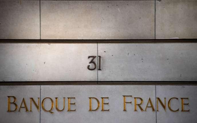 Au siège de la Banque de France, à Paris, le 27 mars.
