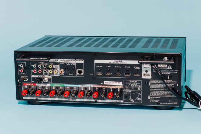 Le choix d'entrées du Denon AVR-S750H devrait convenir à tous les home cinémas, sauf peut-être les plus avancés.