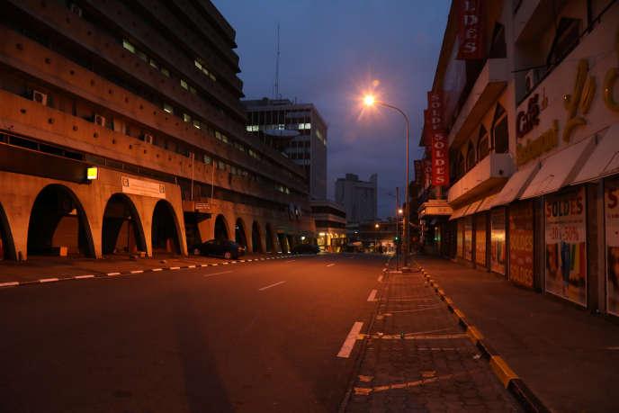 A Abidjan, le 24 mars 2020.