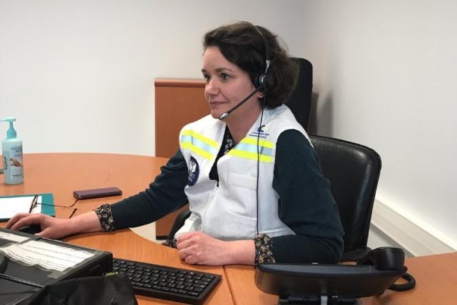 Frédérique Warembourg, psychiatre au CHU de Lille, et responsable de la cellule d'urgence médico-psychologique (CUMP) du département du Nord.