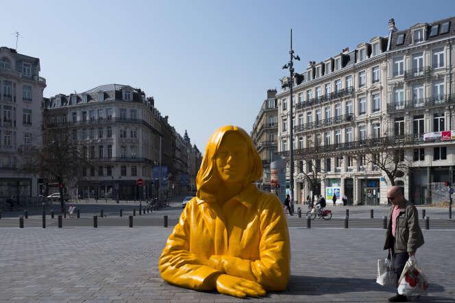 A Lille, le 27mars.
