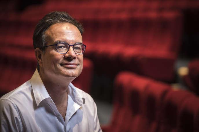 Le chorégraphe José Montalvo, en septembre 2016, à la Maison des arts de Créteil.