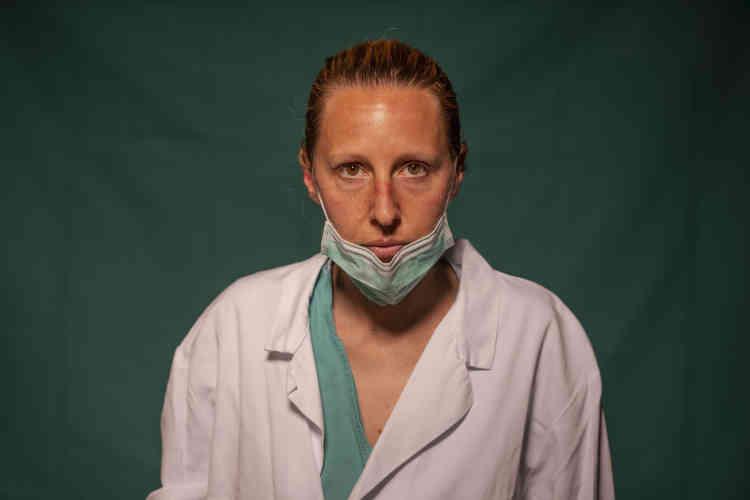 Marta Catoni, 33 ans, immunologiste à la cliniqueSpoke Casal Palocco de Rome.