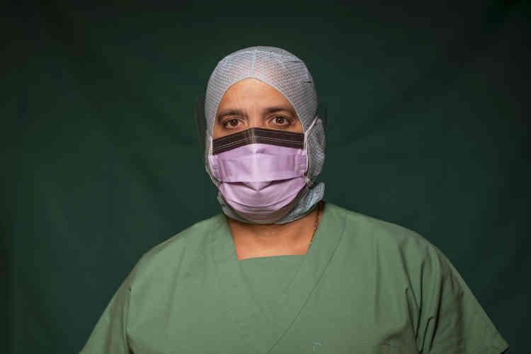 Adriano Rodriguez, 48 ans, infirmier en soins intensifs à la cliniqueSpoke Casal Palocco de Rome.