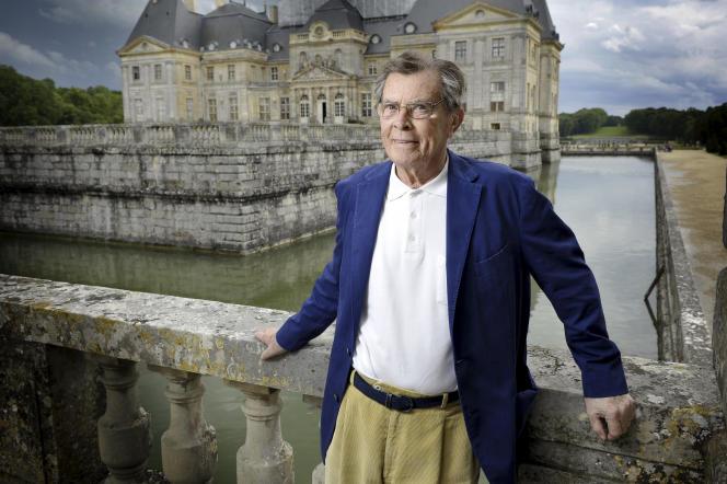 Patrice de Vogüé, à Vaux-le-Vicomte, en juin 2012.