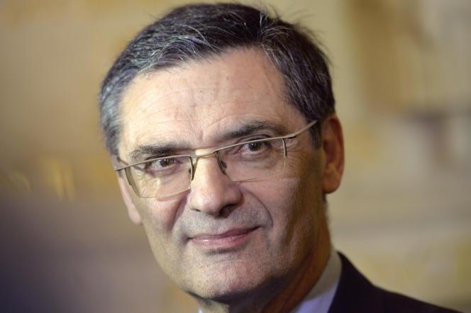Patrick Devedjian, en avril 2015.