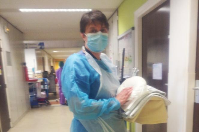 Claire Guil-Paris, infirmière au CHU de Nantes (Loire-Atlantique).
