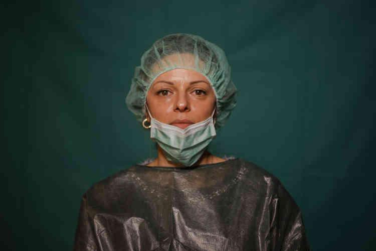 Laura Orsini, 39 ans, travailleuse administrative à la clinique Spoke Casal Palocco de Rome.