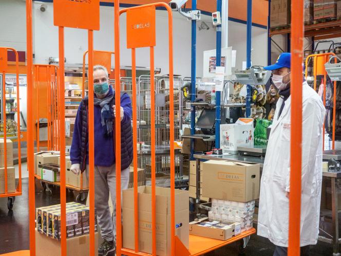 Le grossiste de produits gastronomiques Le Delas a mis 120 de ses 170 employés au chômage technique depuis la crise liée au Covid-19.