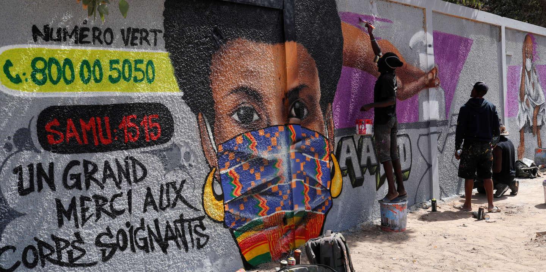 Au Sénégal, graffeurs et hip-hopeurs sortent l'art contre le Covid-19