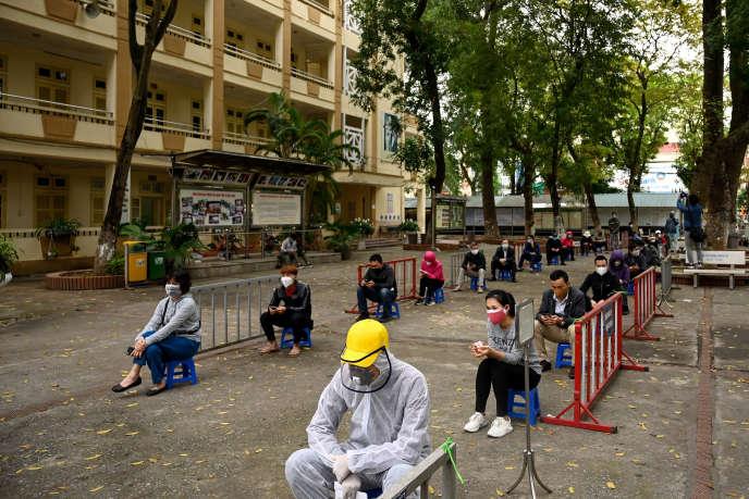 A Hanoï, la capitale du Vietnam, le 31 mars.