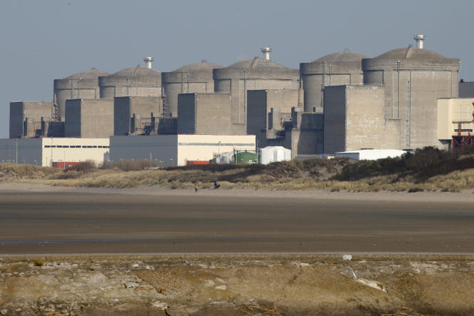 La centrale nucléaire de Gravelines (Nord), en mars 2017.