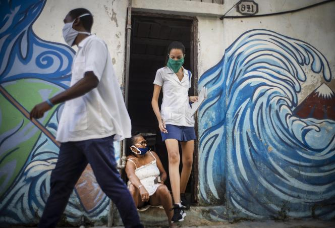 A La Havane, le 31 mars.