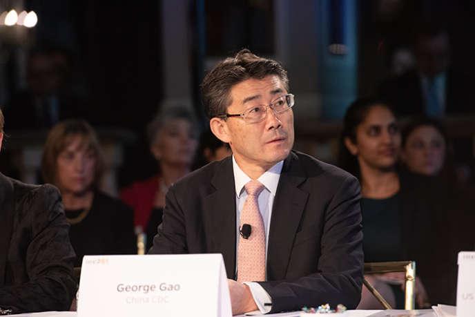 George Gao, le directeur général du Centre chinois de contrôle et de préventions des maladies, ici le 18 octobre 2019, à New York.