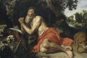 « Saint Jérôme dans le désert», huile sur toile d'Artus Wolffort (1581-1641), école flamande (collection des Beaux Arts de Lille).