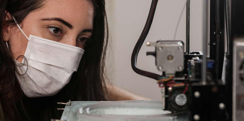 Covid-19: «La production par impression en 3D fonctionne et porte l'espoir de refaire autrement le monde d'après»