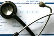 Dans un cabinet médical, à Paris, en2005.