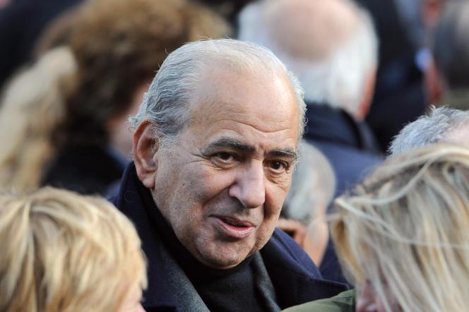 Pierre Benichou, le 22 janvier 2008.